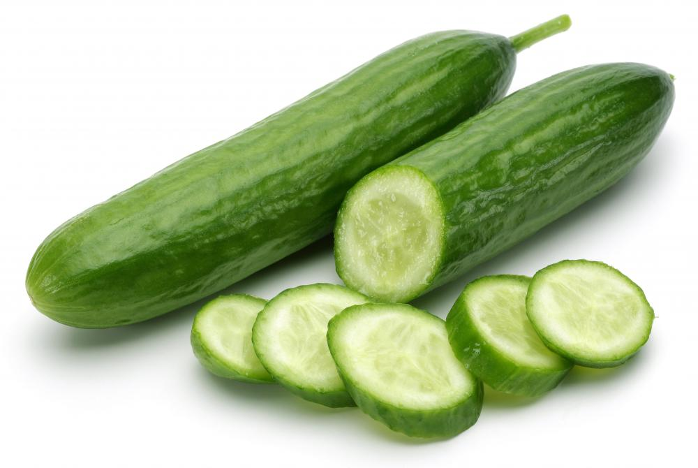 Cold cucumber slices may be used to soothe the eyes during a mini facial.