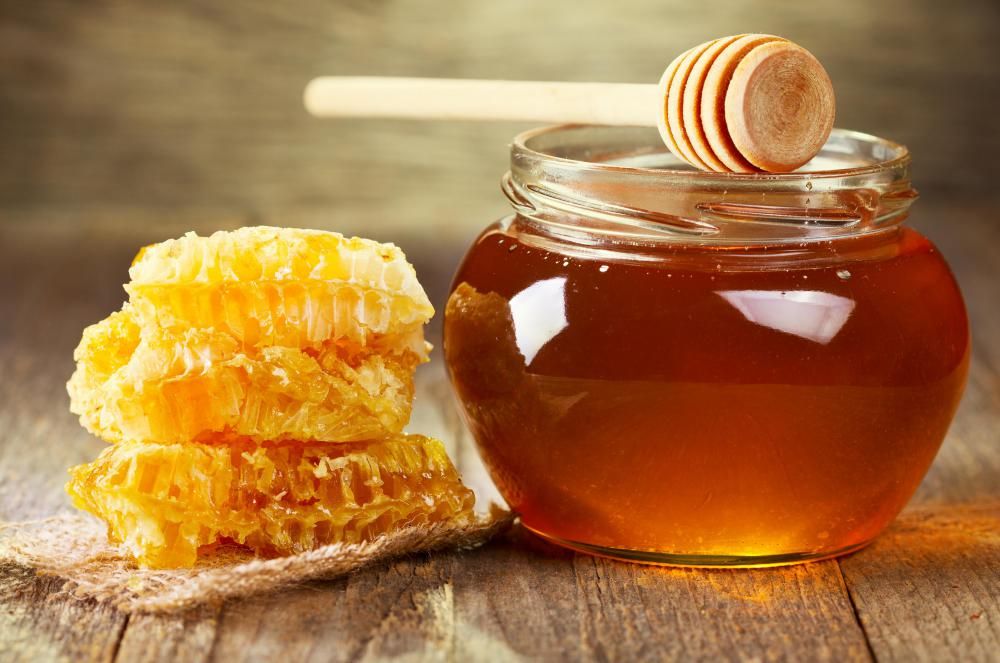 Honey is an ingredient in some facial masks and other skin-care products.