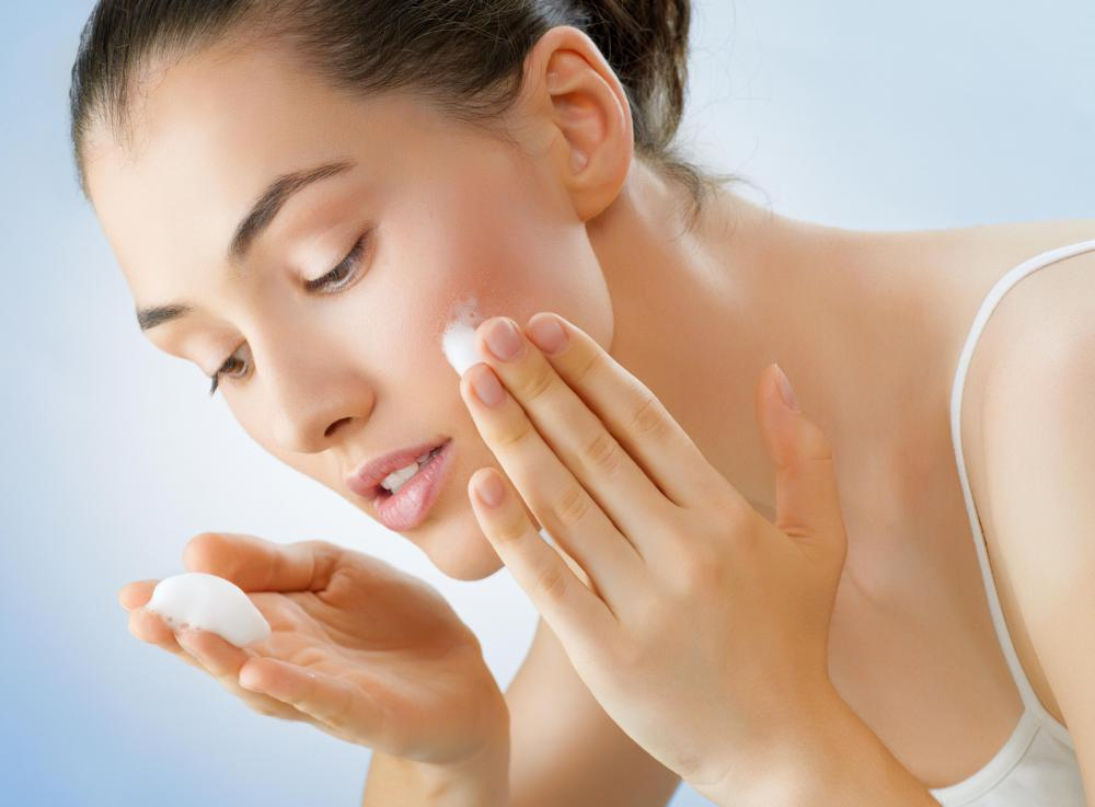 Some cream masks can be applied before bed and left on the skin overnight.