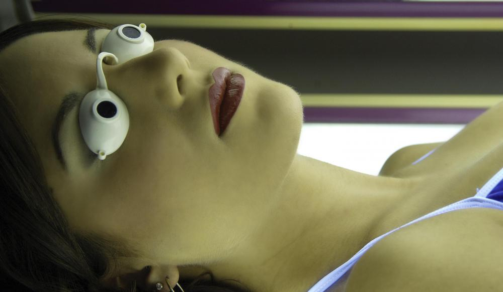 Tanning salons are required to provide special goggles for customers to protect their eyes from radiation.