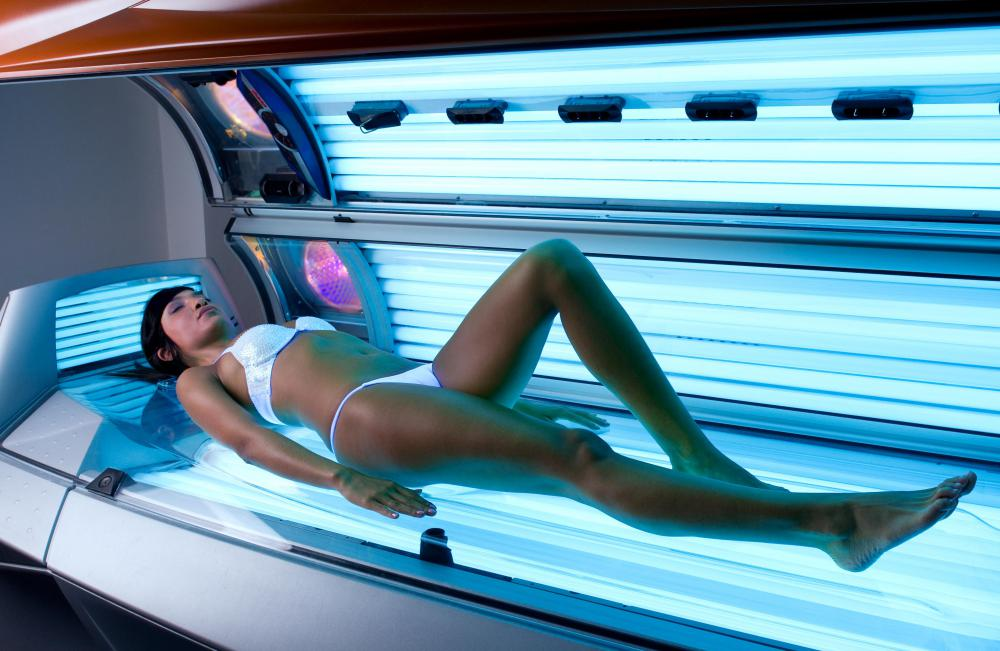Those with the Fitzpatrick skin type should avoid using tanning beds.